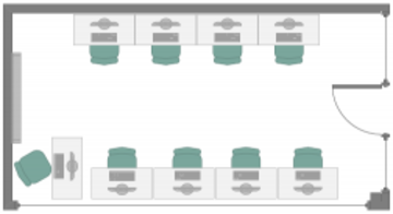 IT Learning Centre kennet room layout